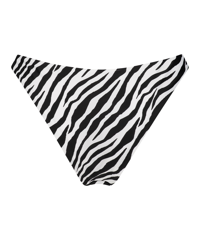 Højt udskåret rio-bikinitrusse HKM x NA-KD, hvid, main