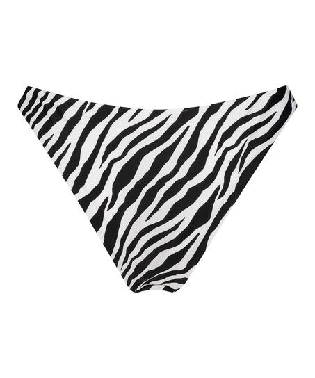 Højt udskåret rio-bikinitrusse HKM x NA-KD, hvid