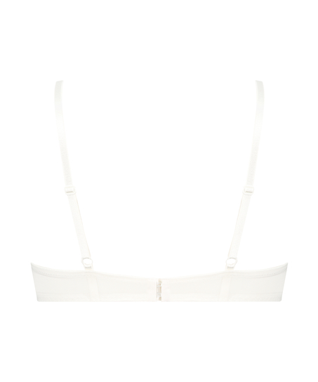 Formstøbt push-up bøjle-bh Leyla, hvid