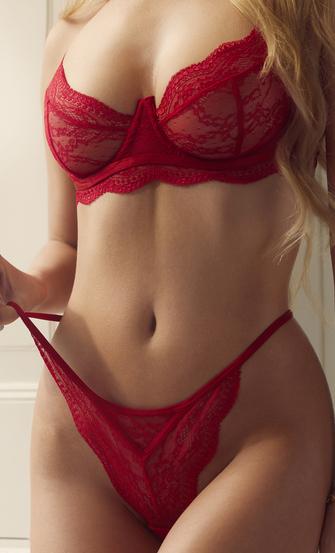 G-streng Isabelle, rød