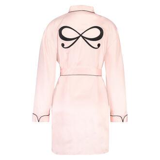 Satin kimono, pink