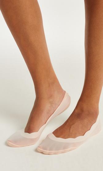 2 par footsies lasercut, pink