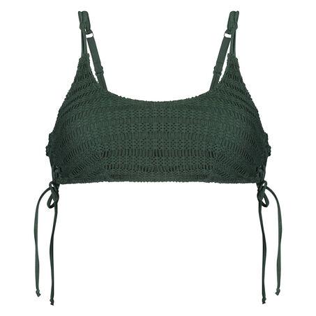 Tied Down bikini-croptop, grøn