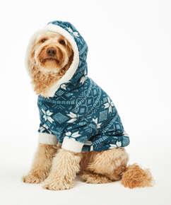 Fleece hunde-onesie, blå