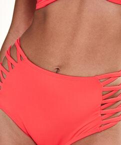 Sunset Dream bikinitrusse med høj talje, rød
