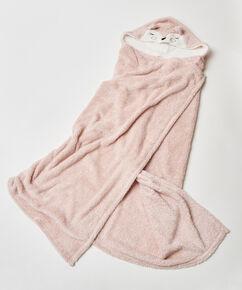 Hyggetæppe Ræv, pink