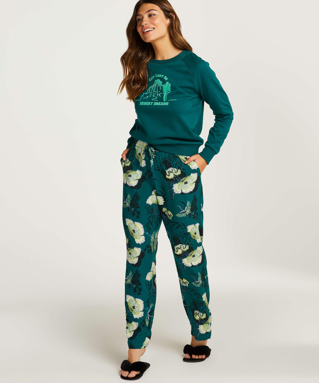 Pyjamasbukser Woven, Grå, main