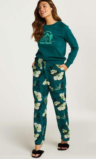 Pyjamasbukser Woven, Grå