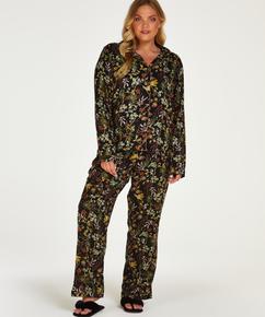 Pyjamasbukser Woven, sort