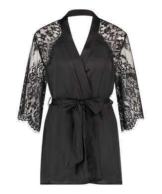Jennifer kimono, sort