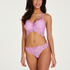 Marilee formstøbt longline bøjle-bh, pink