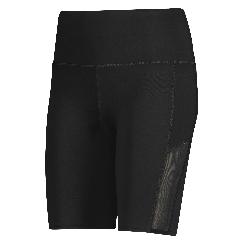 HKMX high waisted bike shorts level 3, sort, main