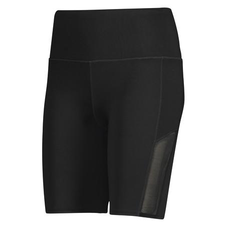 HKMX high waisted bike shorts level 3, sort