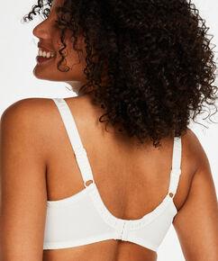 Diva ikke-formstøbt bøjle-bh, hvid