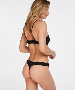 Angie formstøbt stropløs bøjle-bh, sort