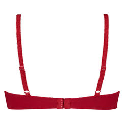 Formstøbt bøjle-bh Diva, rød