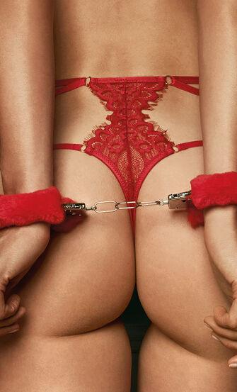Private håndjern, rød