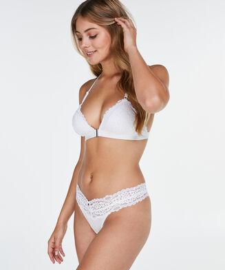 Marina ekstra lav g-streng, hvid