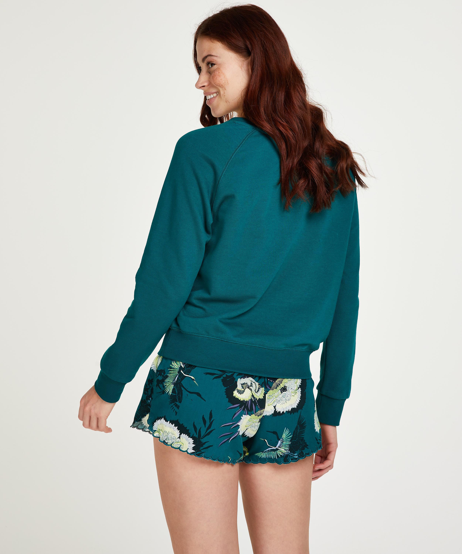 Pyjamasshorts, Grå, main