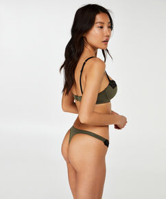 Secret Lace formstøbt bøjle-bh, grøn