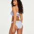 Rio bikinitrusser Scallop, blå
