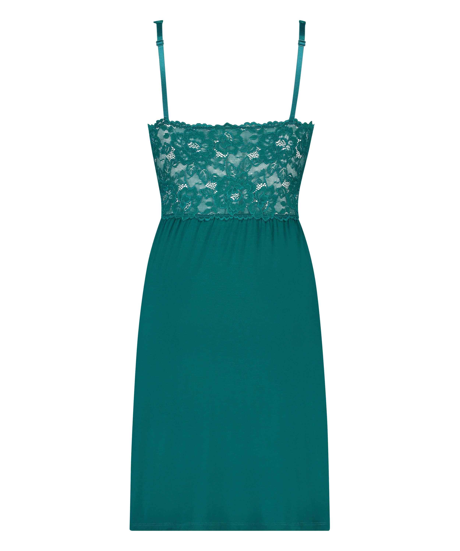 Modal Lace natkjole, grøn, main