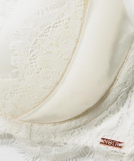 Formstøbt bøjle-bh Hannako, hvid
