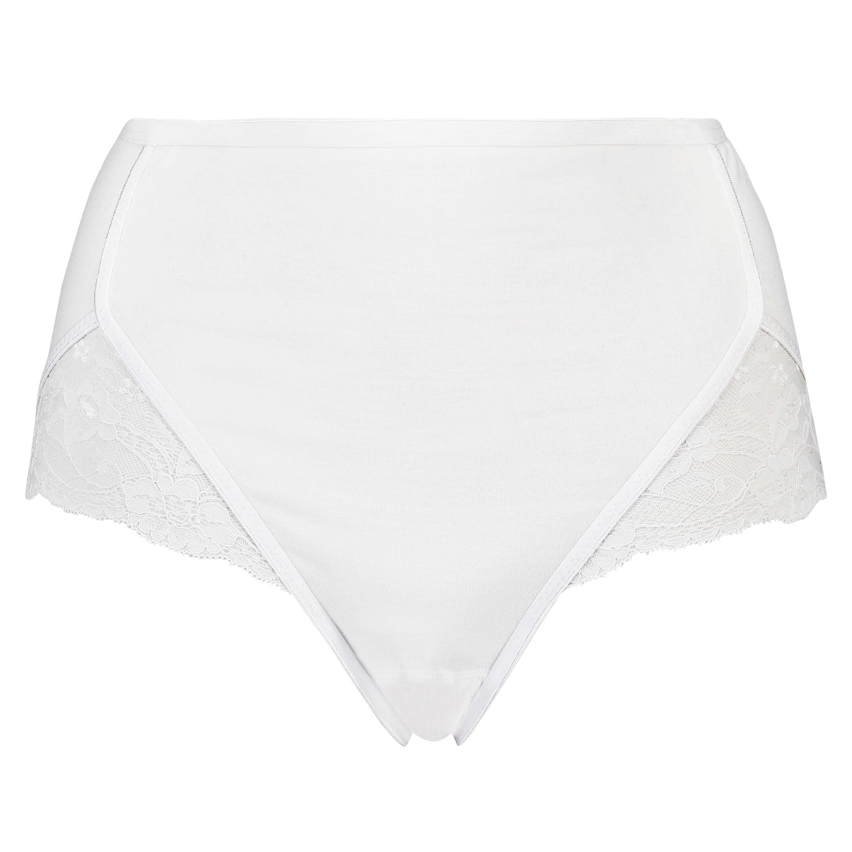 Superslip Lace Maxi bomuld, hvid, main