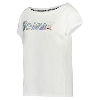 HKMX sports-T-shirt med korte ærmer, hvid