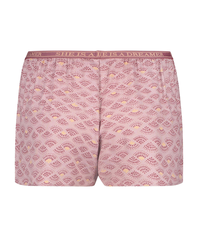 Pyjamasshorts, pink, main