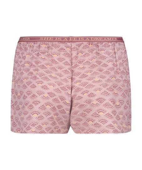 Pyjamasshorts, pink