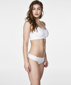 Seamless strappytop, hvid
