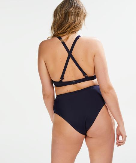 Formstøbt bøjle-bikinitop Sunset Dreams Størrelse E +, blå