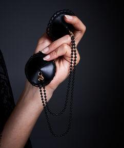 Private brystvortekæde, sort