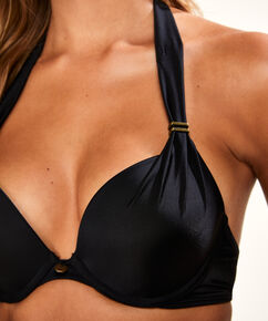 Sunset Dream formstøbt pushup-bikinitop, sort