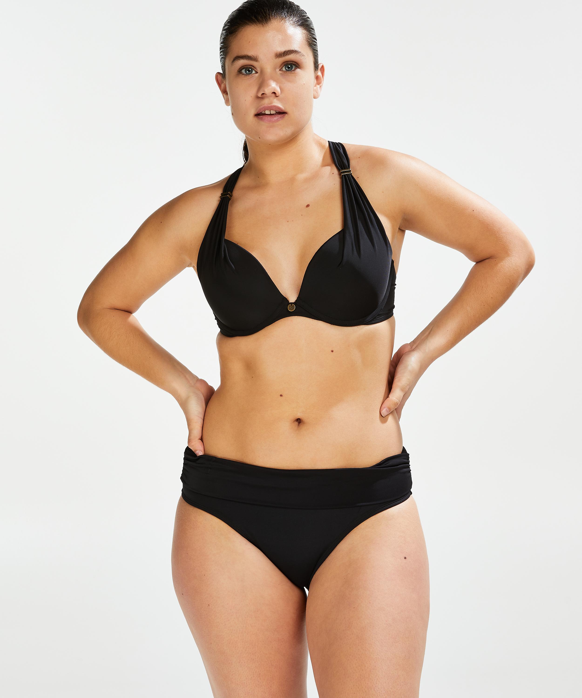 Formstøbt bøjle-bikinitop Sunset Dreams Størrelse E +, sort, main