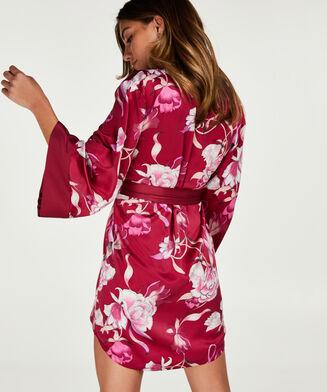 Ann Kathrin Zinnia Rose kimono, lilla