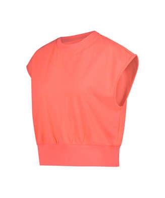 T-shirt Spill The Tea, pink