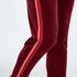 Lange Joggingbukser Velour, rød
