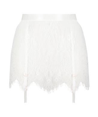 Nederdel Lace, hvid