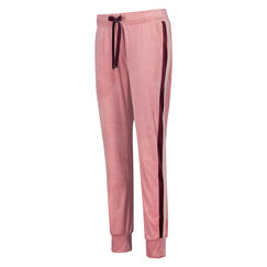 Velours joggingbukser, pink