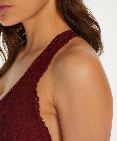 Bralette Alexis, rød