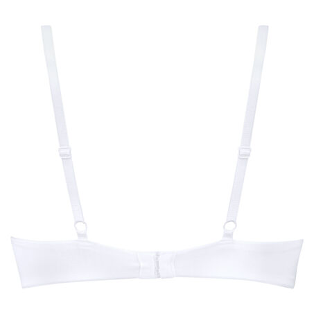 Plunge formstøbt maximizer-bøjle-bh, hvid