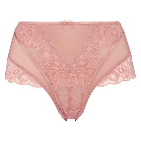 Høj brasiliansk trusse Aimee, pink