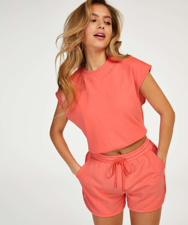 Shorts Snuggle Me, pink, main