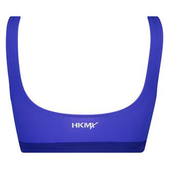 HKMX Neo bikini-croptop, blå