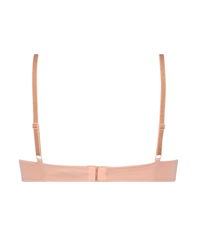 Plunge formstøbt bøjle-bh, pink, main