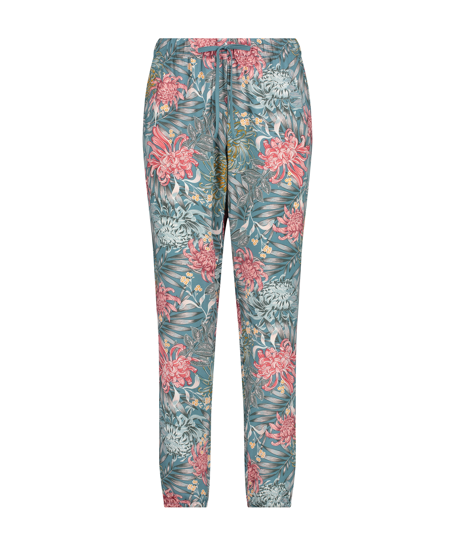Pyjamasbukser Woven, grøn, main