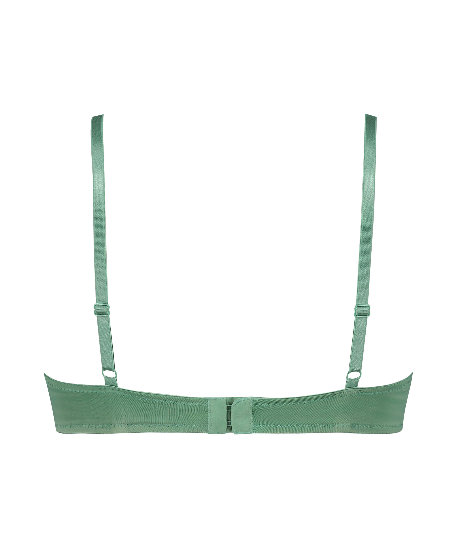 Plunge formstøbt bøjle-bh, grøn, main