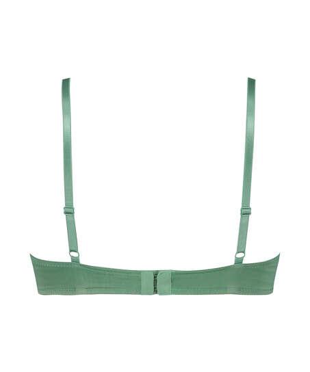 Plunge formstøbt bøjle-bh, grøn